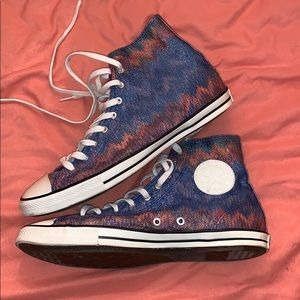 Missoni for Converse High Tops